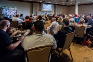 Guests encouraged by testimonies at SCORE Lunch