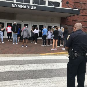Spain Park High School Students Organize Prayer Walk