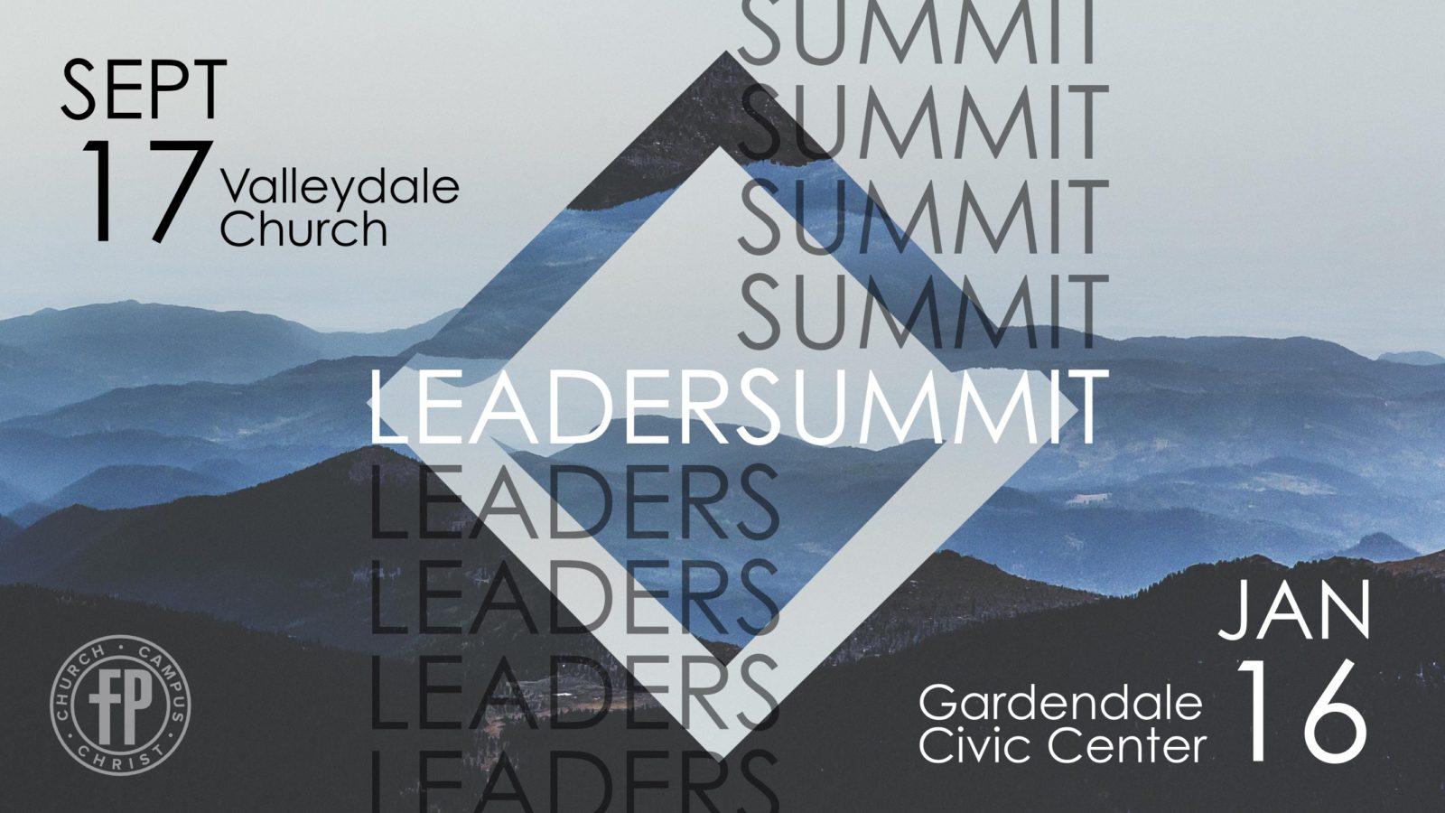leaders summit main